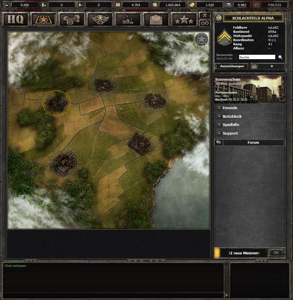 Wargame 1942 Обширное поле