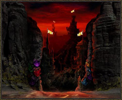 Wizards World Ущелье