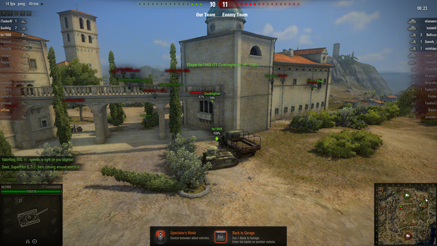 World of Tanks Пески