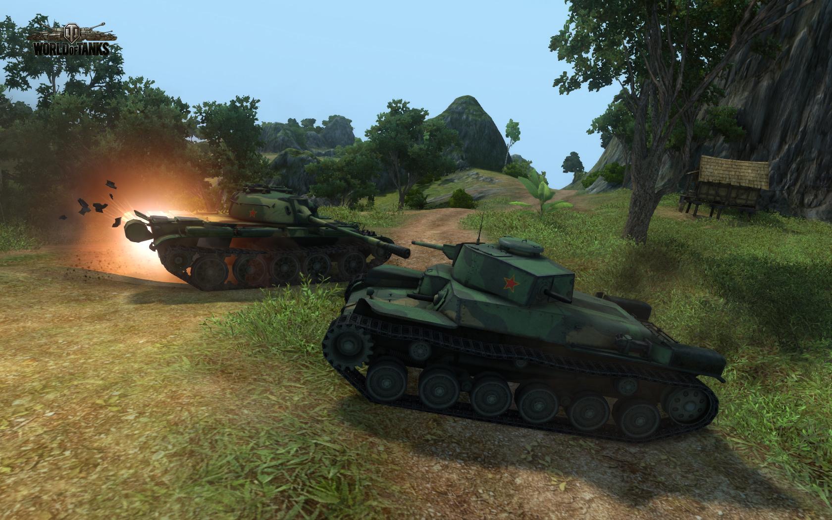 World of Tanks Ближний бой