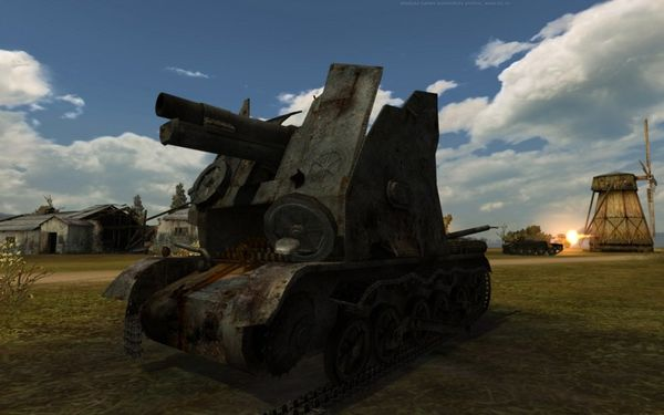 World of Tanks Бизон