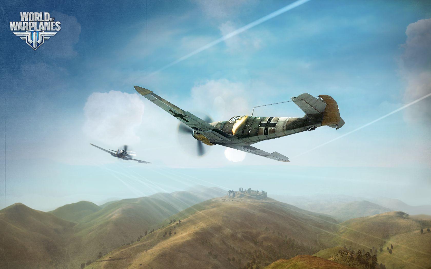 World of Warplanes Иду на таран!