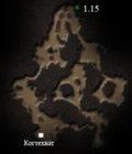 Карта пещеры когтехвата