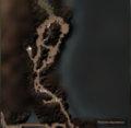 Карта черных ущелий