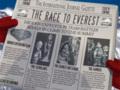 Газета в руке