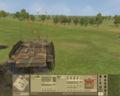 Танк в бою