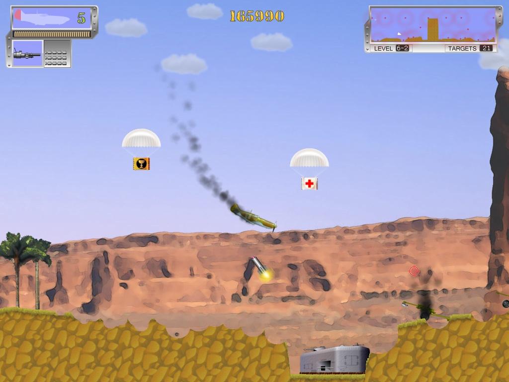 Air Bandits Подбитый самолет