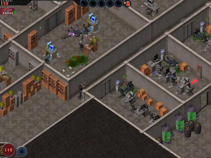 Скриншоты для игры Alien Shooter: Fight for Life.