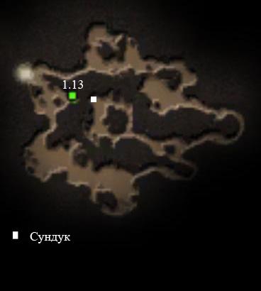 Готика 4: Аркания Карта жабьей пещеры