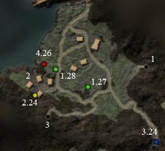 Готика 4: Аркания Карта предместий Торниары
