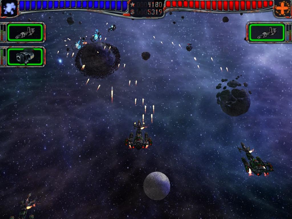 AstroMenace Игровой процесс AstroMenace