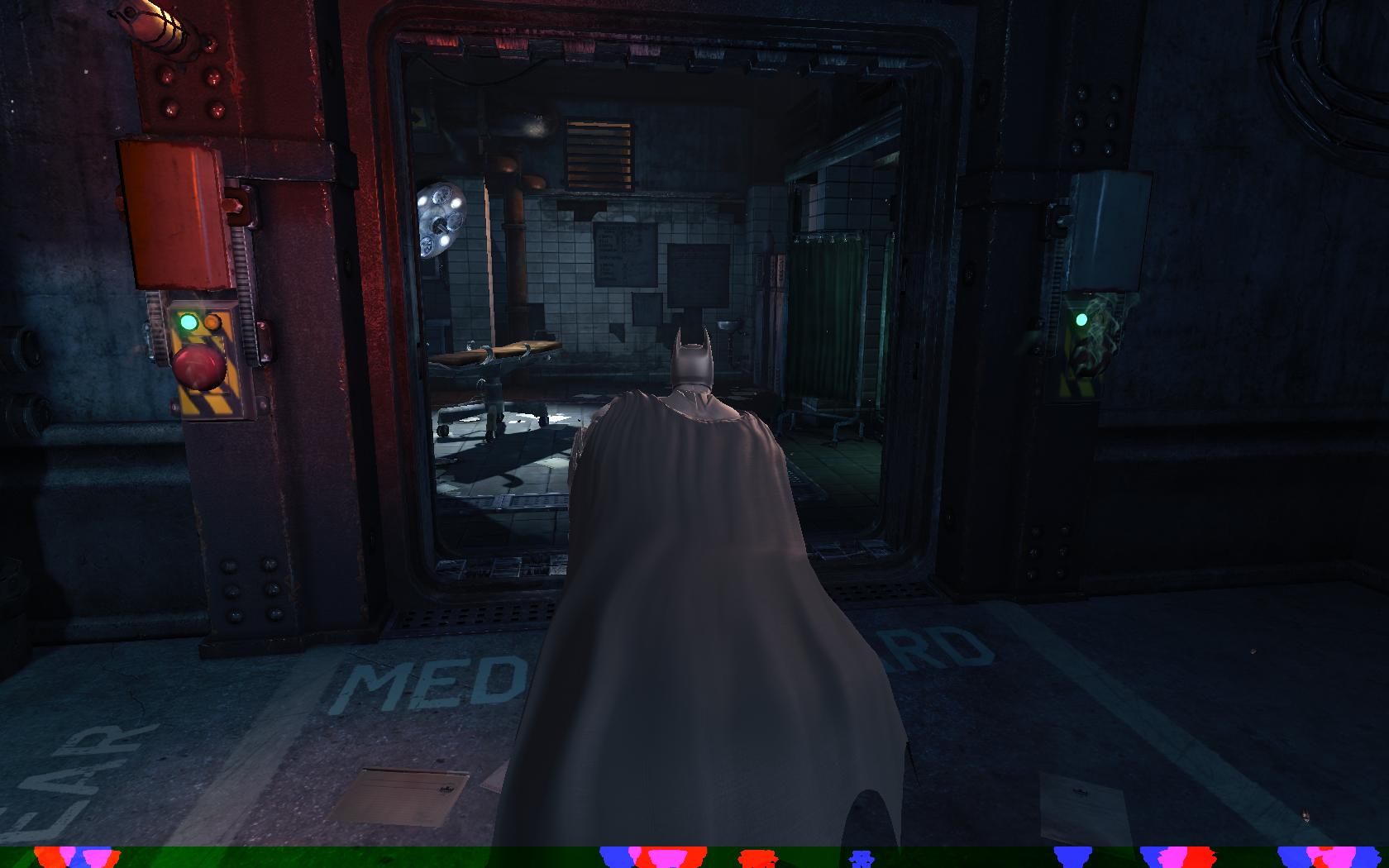 Batman: Arkham Origins Операционная