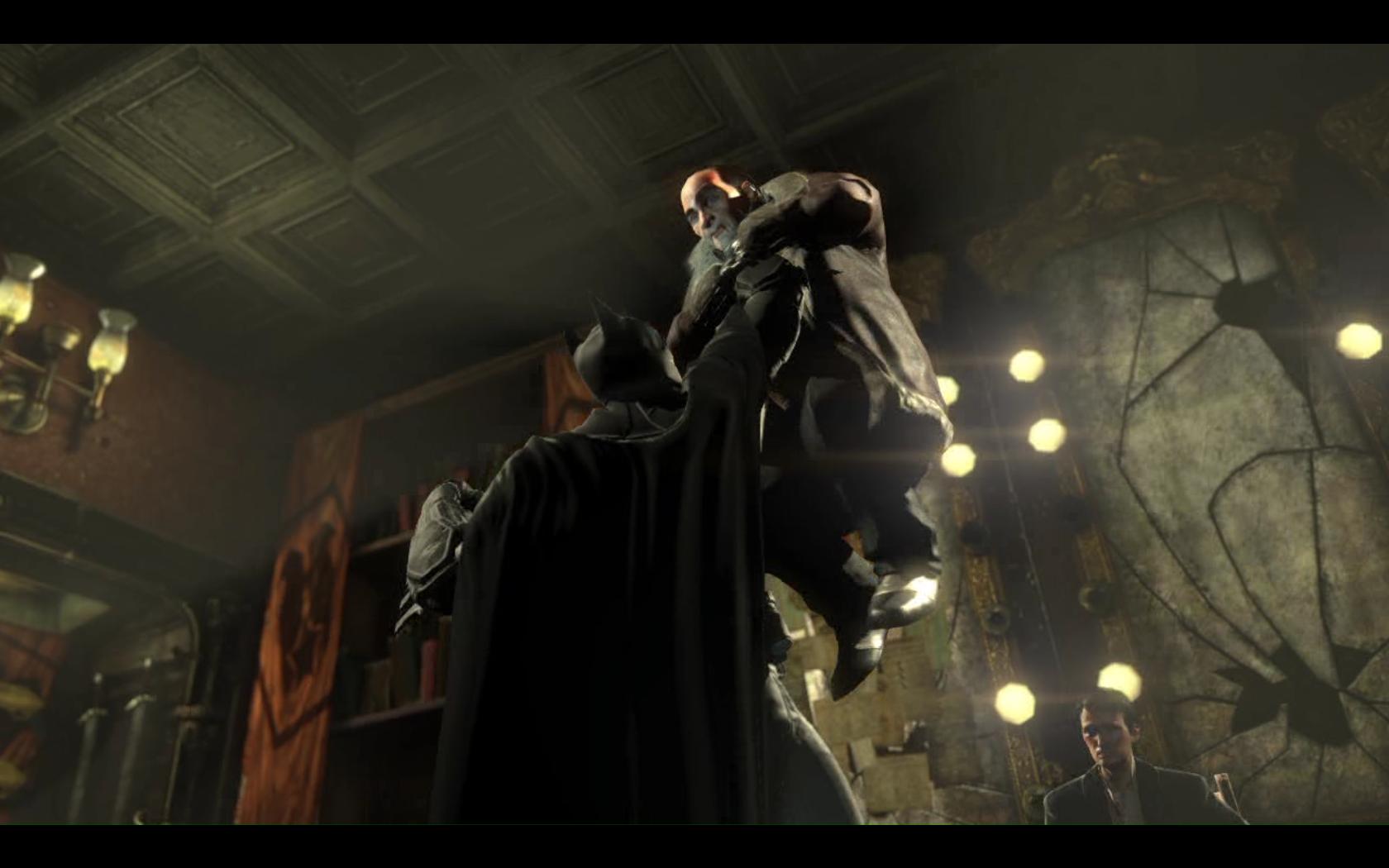 Batman: Arkham Origins Пингвин страдает