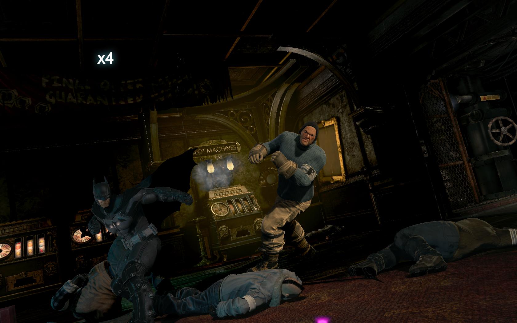 Batman: Arkham Origins Противник получил