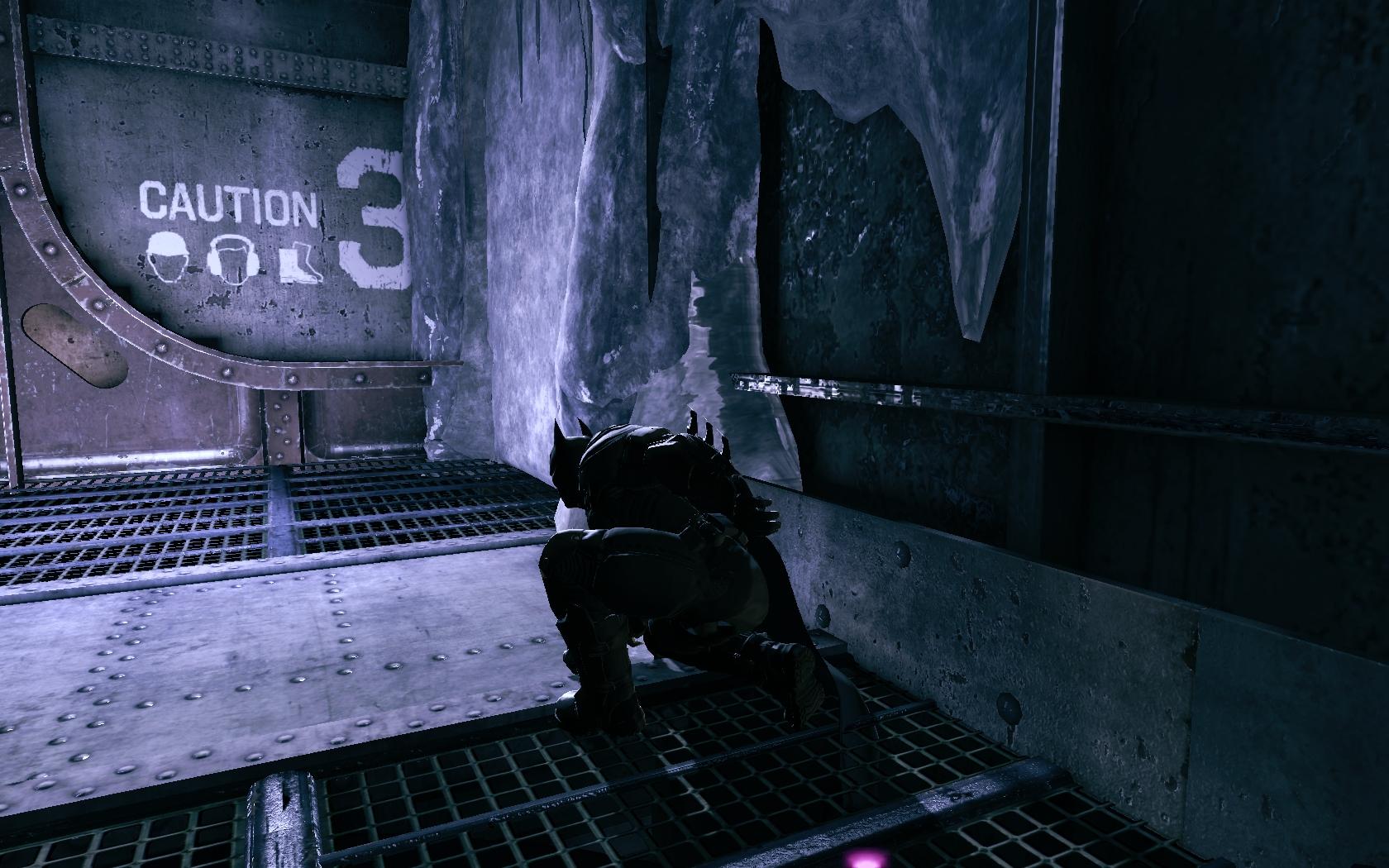 Batman: Arkham Origins Приземление