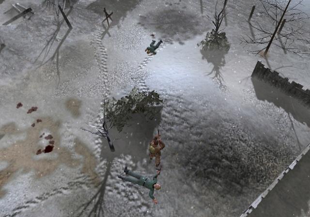 Combat Elite: WWII Paratroopers На снегу