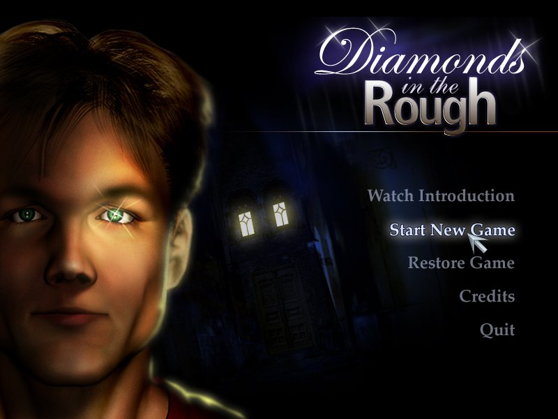 Diamonds in the Rough Меню игры