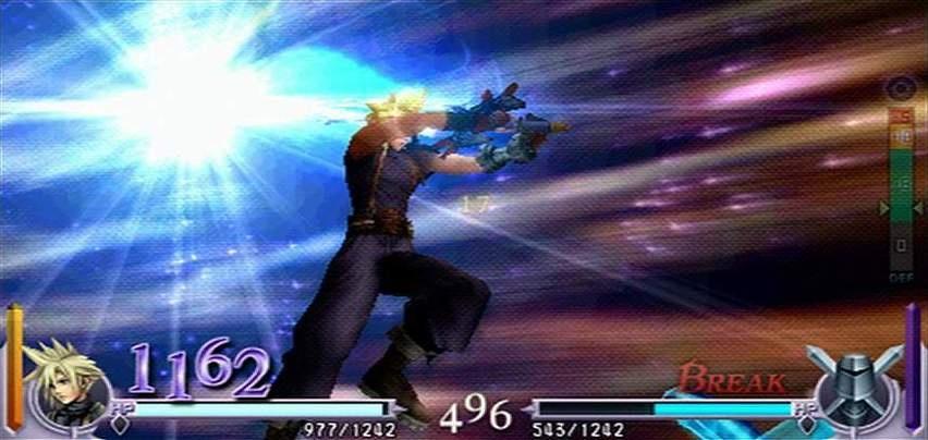 Dissidia: Final Fantasy Вспышка
