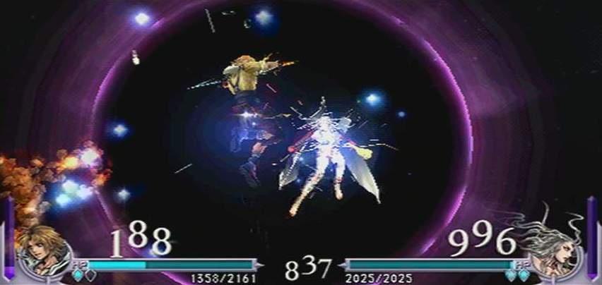Dissidia: Final Fantasy Персонажи из игры