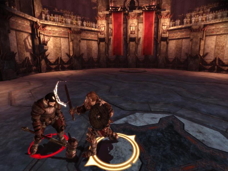 Dragon Age: Origins Удар по голове