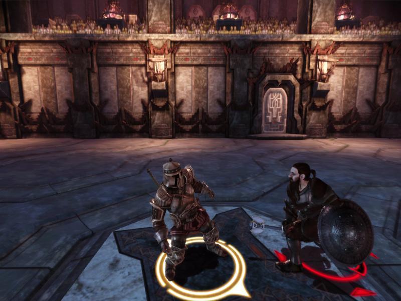 Dragon Age: Origins Начало турнира