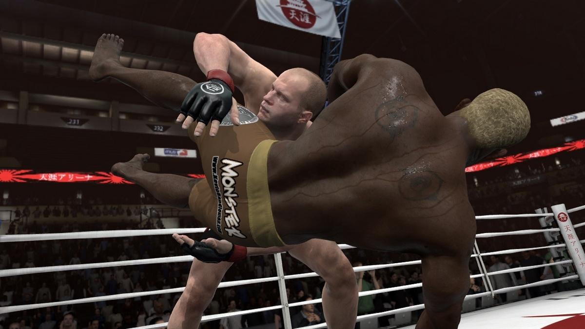 EA Sports MMA Фёдор рулит!