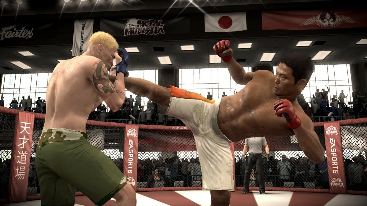 EA Sports MMA Удар ногой