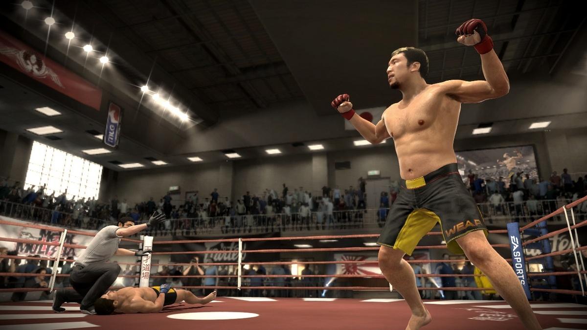 EA Sports MMA Игровой процесс