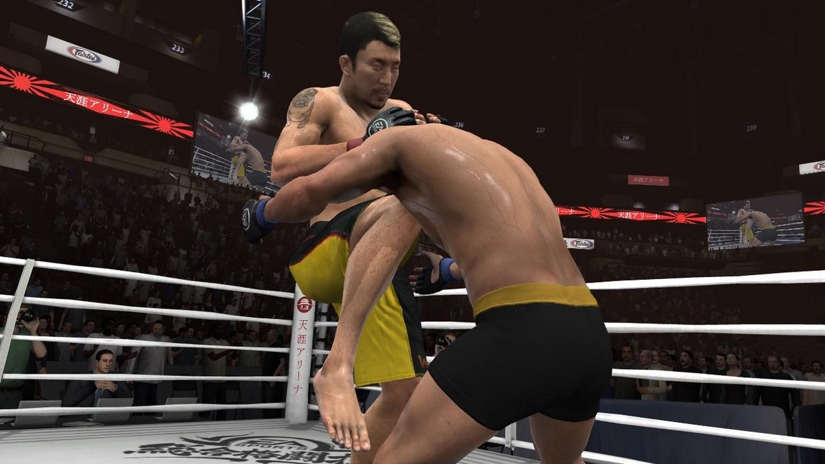 EA Sports MMA Геймплей