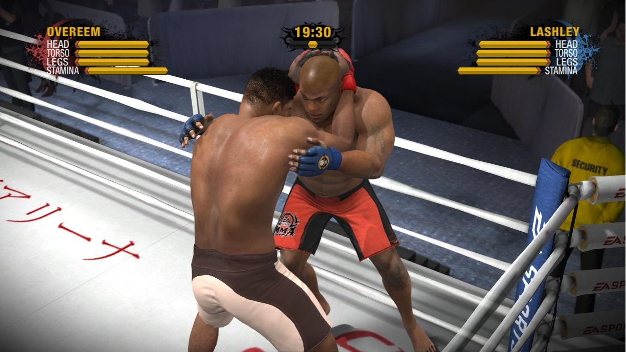EA Sports MMA Бой в ринге
