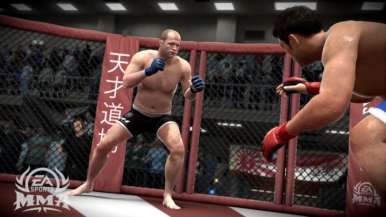 EA Sports MMA Федор в битве