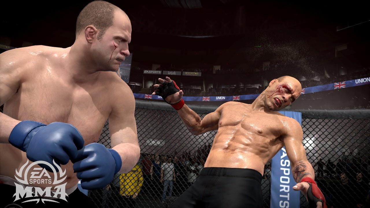 EA Sports MMA Его противникам всегда было тяжко...
