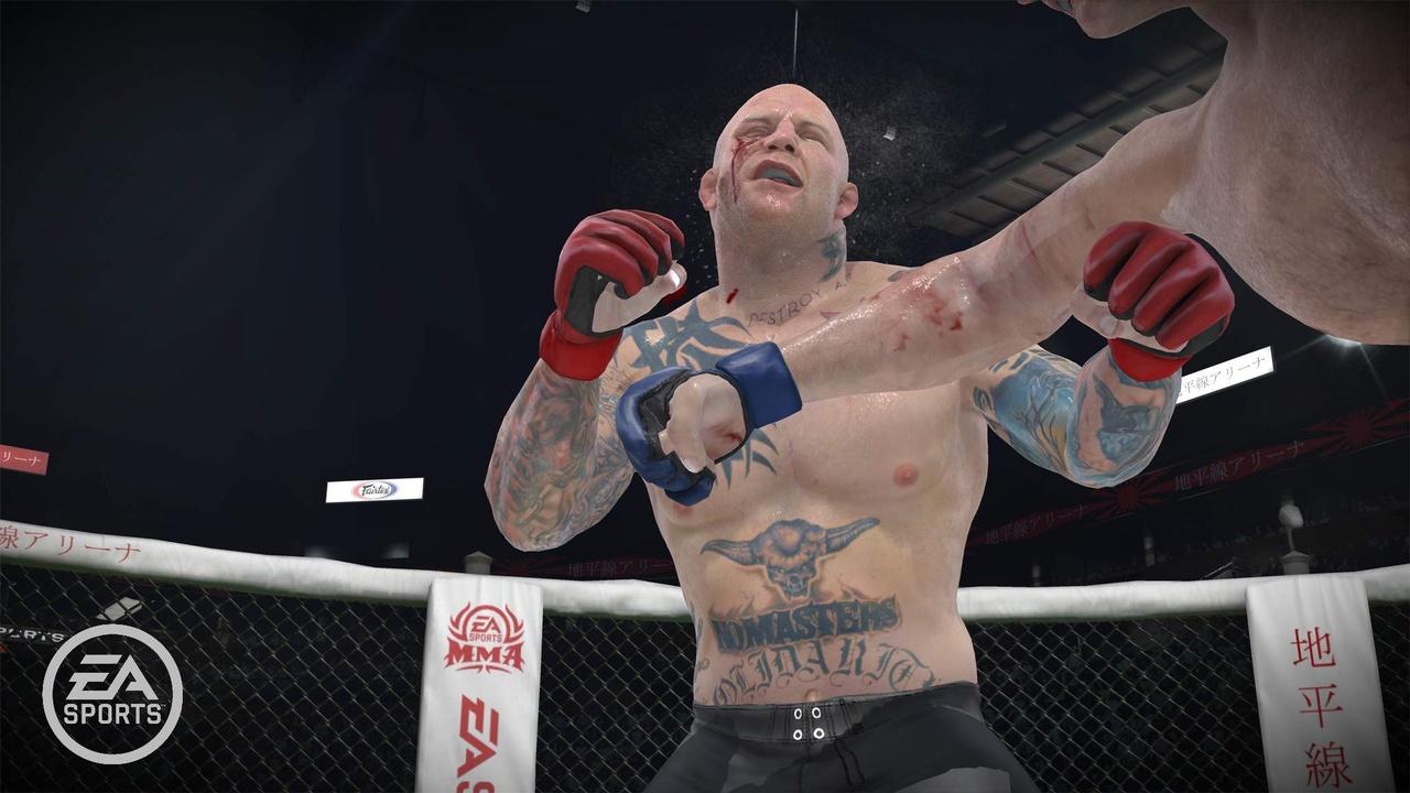 EA Sports MMA Повреждения