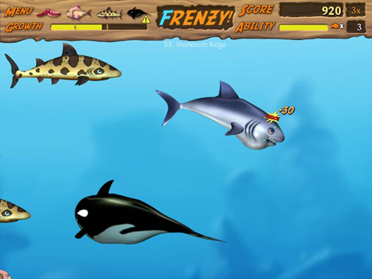 Feeding Frenzy 2: Shipwreck Showdown Водный мир