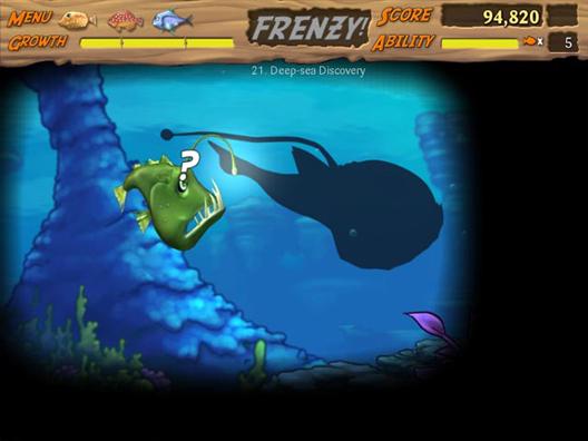 Feeding Frenzy 2: Shipwreck Showdown Геймплей