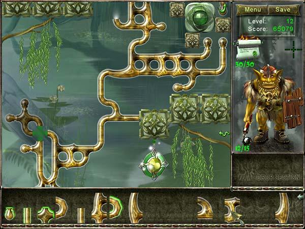 Fiber Twig 2: Restoration of Magic Garden Игровой процесс