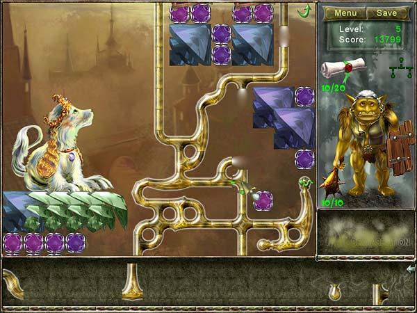 Fiber Twig 2: Restoration of Magic Garden Один из уровней