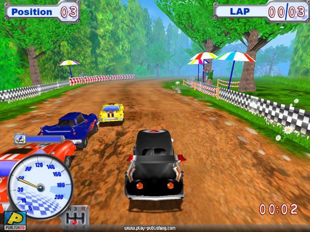 Funny Racer Грунтовка