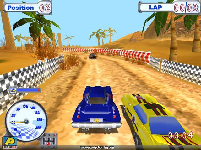 Funny Racer Игровой процесс