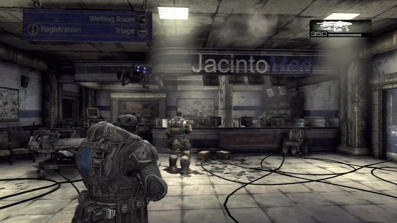 Gears of War 2 Здание