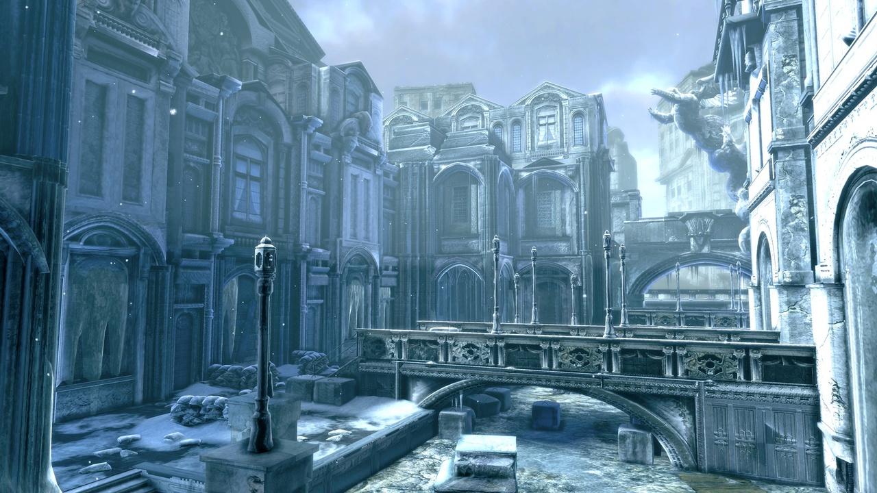 Gears of War 2 Зима