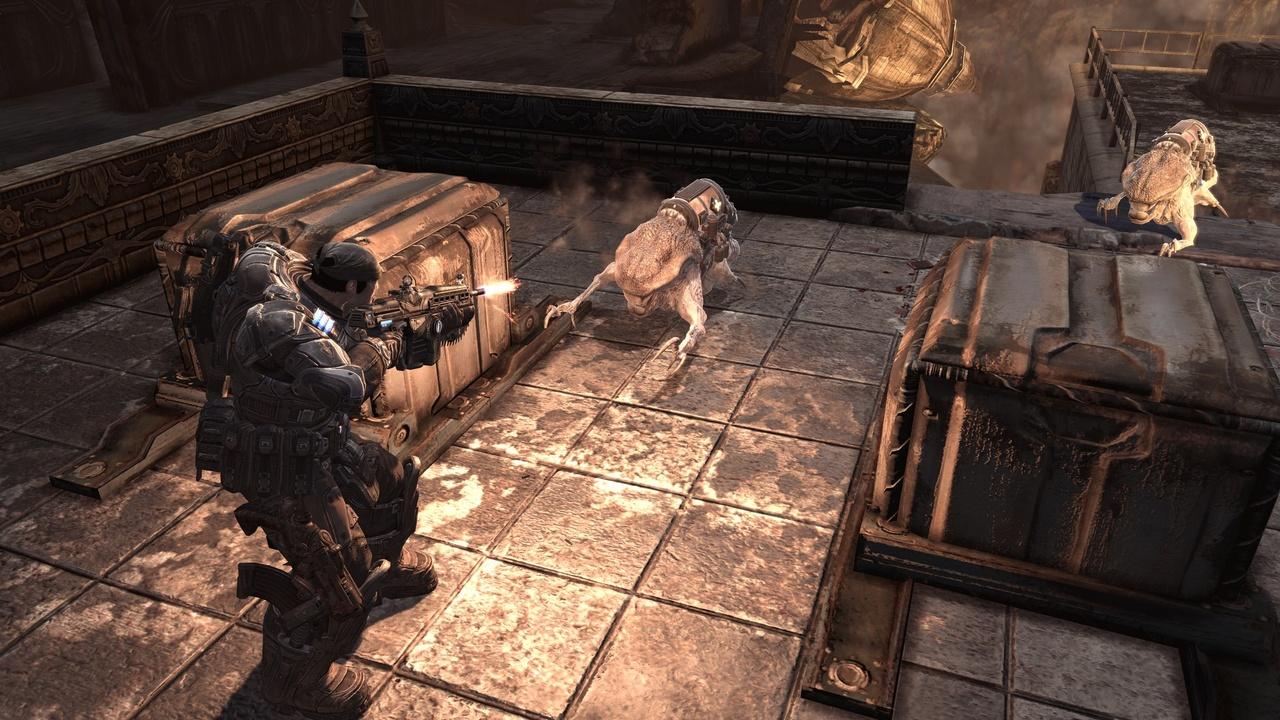 Gears of War 2 Геймплей