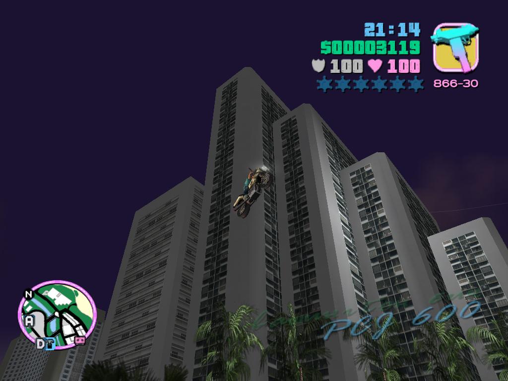 Vice City Мотоцикл
