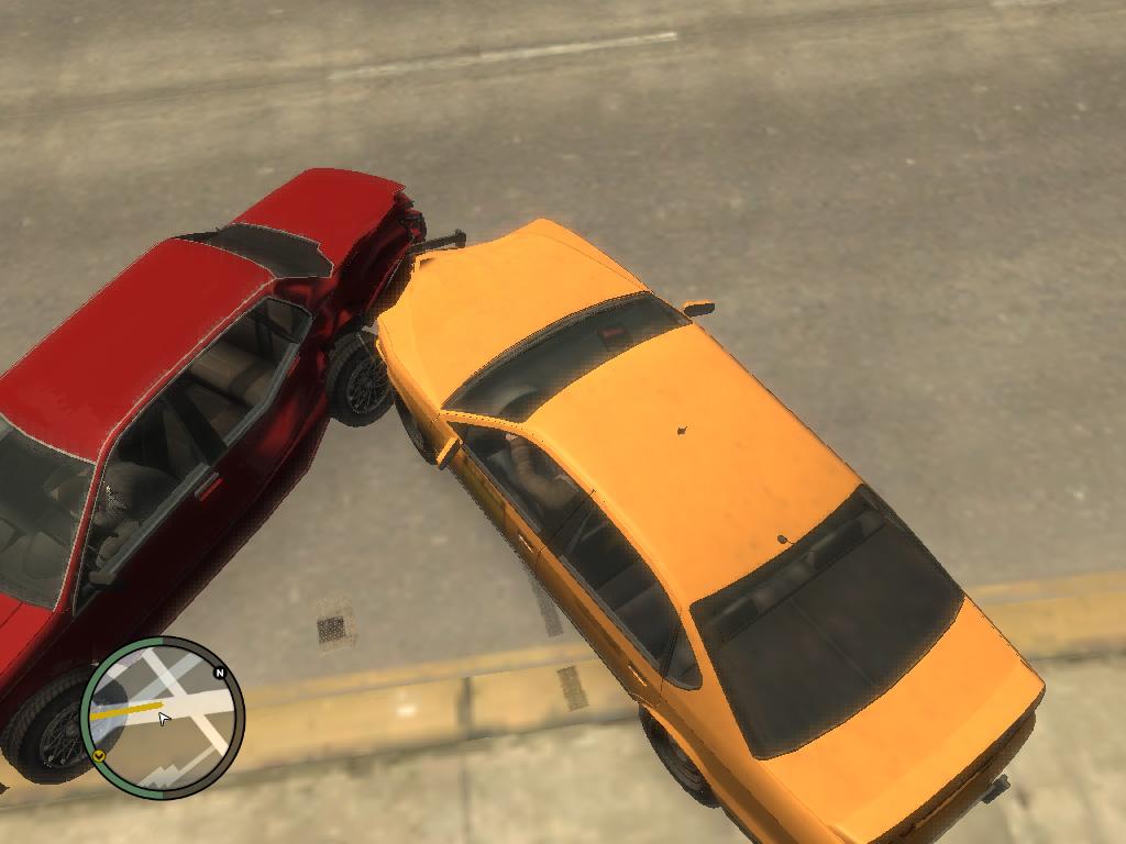 GTA 4 Авария