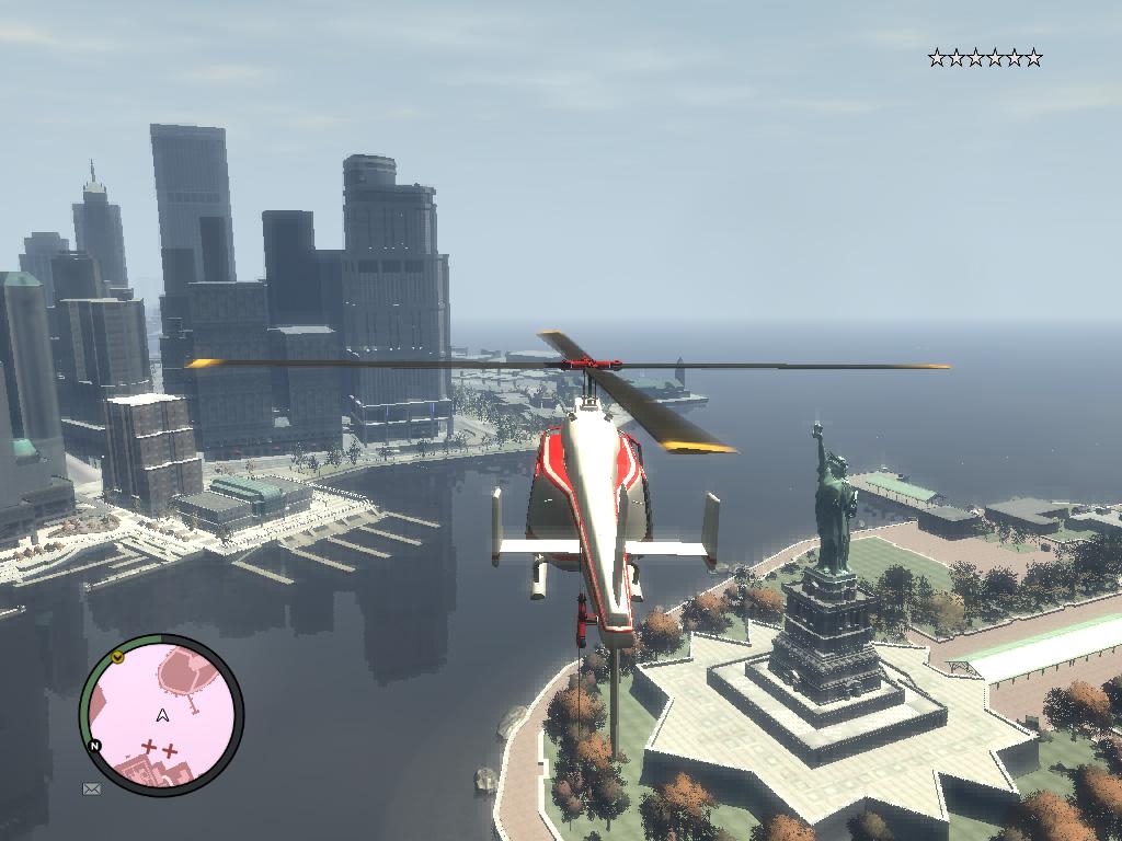 GTA 4 Статуя свободы