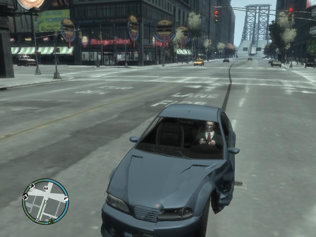 GTA 4 Авария некстати