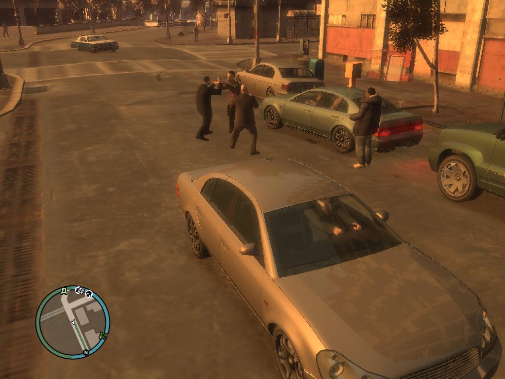 GTA 4 Столкновение