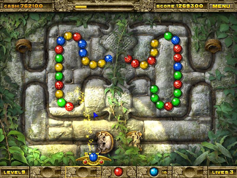Скриншоты из игры Храм инков.