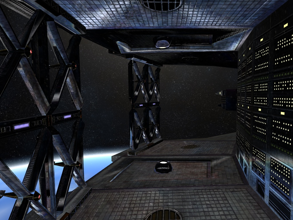 Infinity: The Quest for Earth Внутри корабля