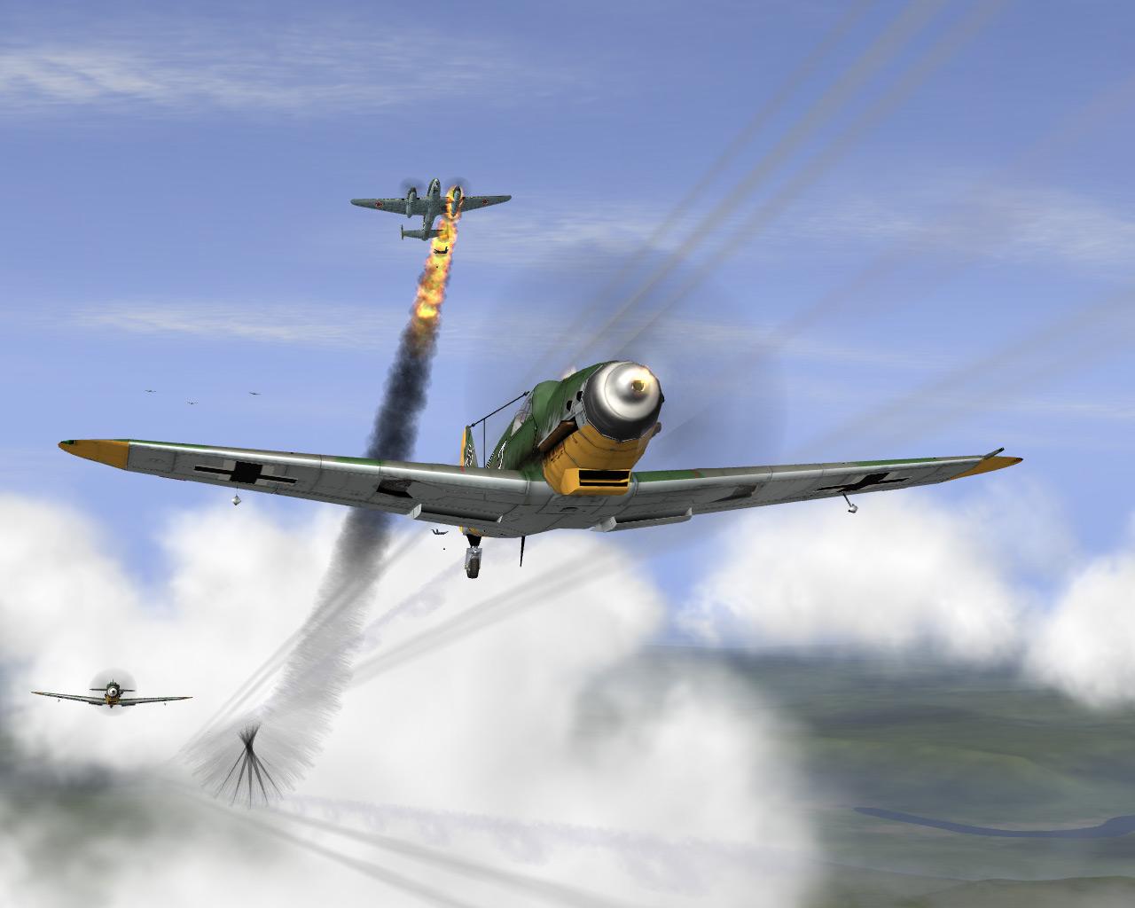 Истории пикирующего бомбардировщика Воздушный бой